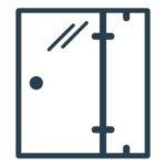 Glas Trenndwand Icon